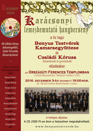 Karacsonyi Lemezbemutato 2016 12 03 Webes